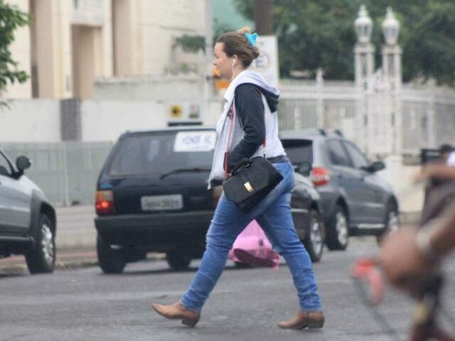 Camila Moraes quer aproveitar bem os dias de frio. (Foto: Marcos Ermínio)