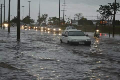 Chuva em Campo Grande cancela gincana ecológica da Polícia Ambiental