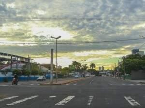 A menor temperatura em Campo Grande será de 10° na quarta-feira, dia 31. (Foto: Fernando Antunes)