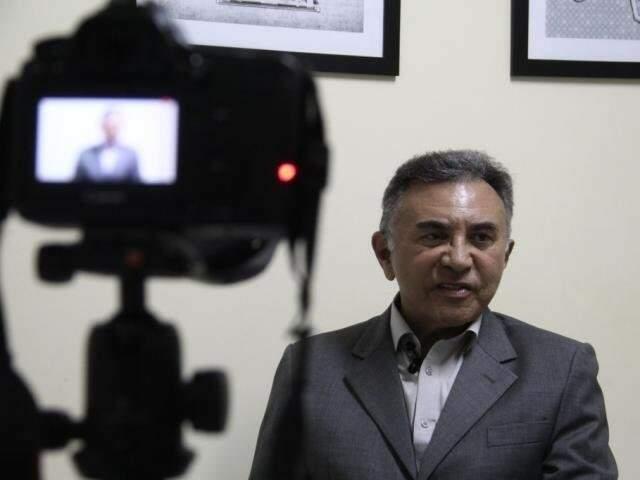 Juiz aposentado Odilon de Oliveira é candidato ao governo de Mato Grosso do Sul. (Foto: Arquivo)