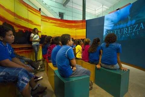 Onça do Pantanal é tema de exposição interativa até julho em Corumbá