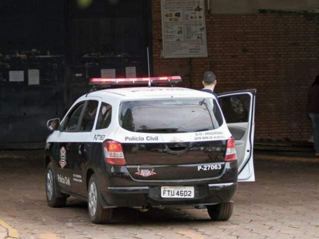 No começo do mês a Polícia de São Paulo esteve no Presídio de Segurança Máxima de Campo Grande para cumprir mandados  (Foto: Saul Schramm)