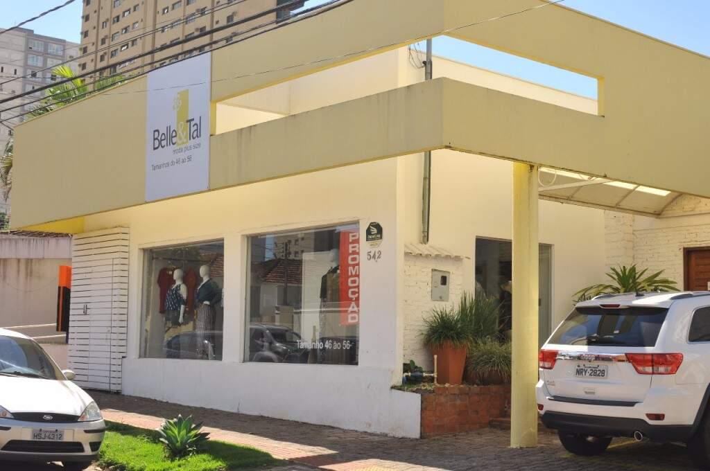 A Belle & Tal fica na Rua José Antônio, 542. (Foto: Alcides Neto)