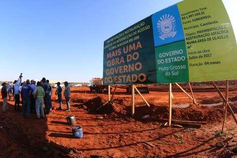 Governo atende prioridades em Cassilândia com obras de infraestrutura