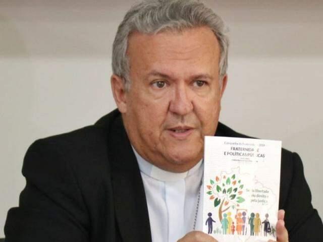 Arcebispo de Campo Grande, Dom Dimas Lara Barbosa. (Foto: Henrique Kawaminami)