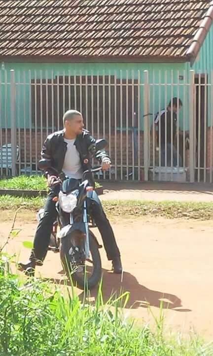 Cauã em cena do filme rodado em Bela Vista (Foto: Direto das Ruas)