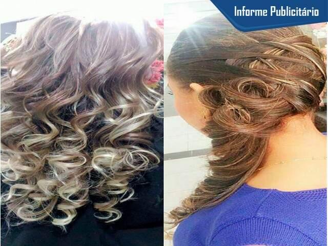 Loiros e luzes são especialidade da Stillo Hair. Diferentes tonalidades de loiro. (Foto: Divulgação)