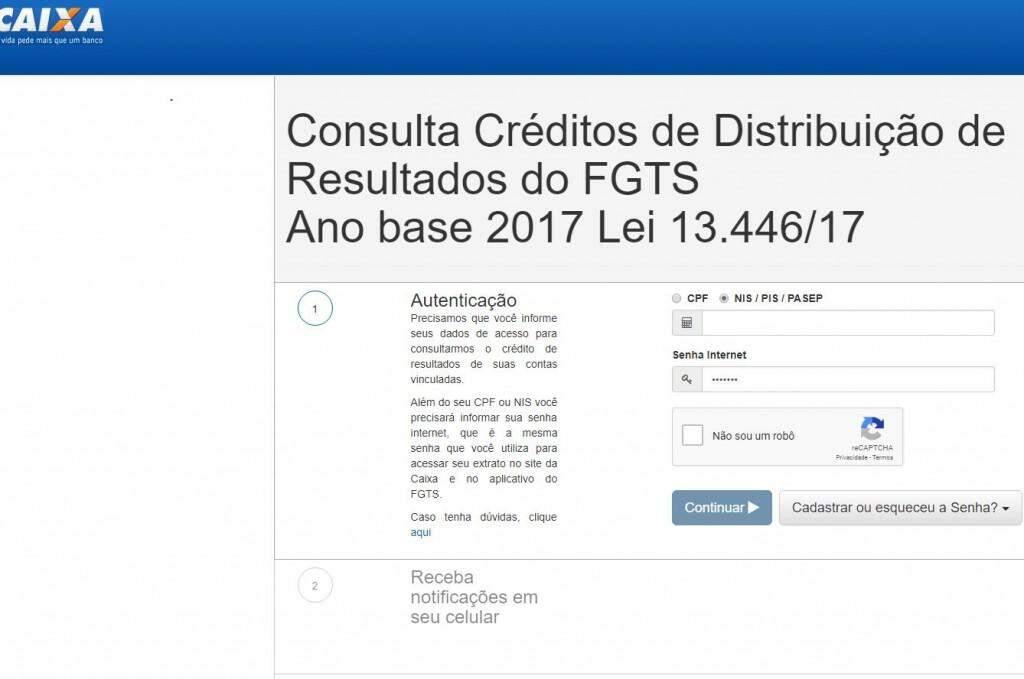 Consulta pode ser feita em site específico. (Foto: Reprodução internet)