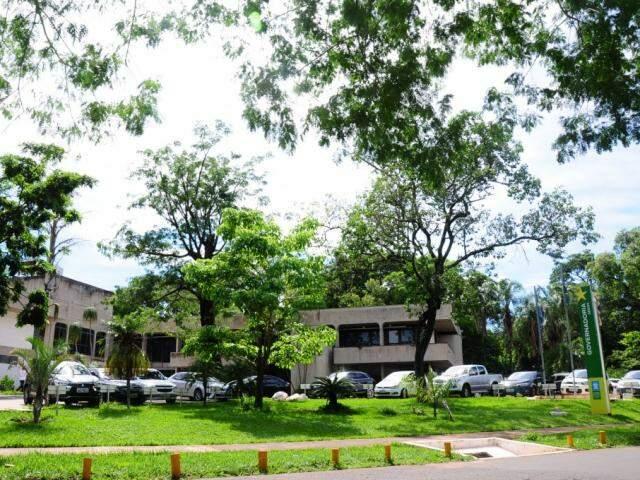 Sede da Governadoria, no Parque dos Poderes, em Campo Grande. (Foto: Paulo Francis).