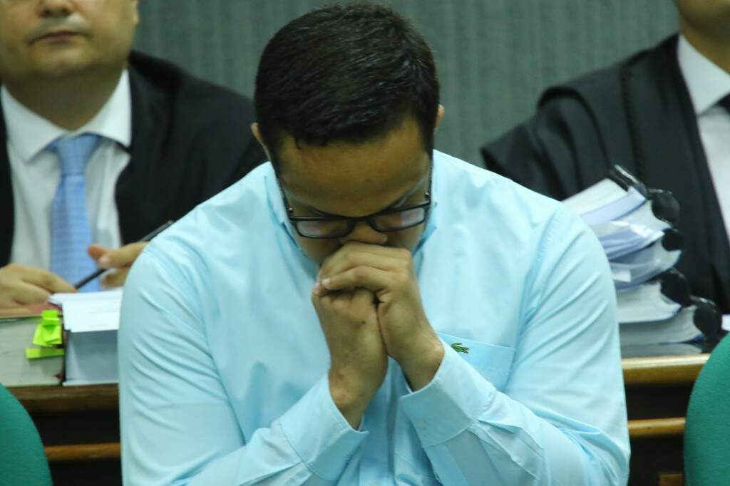 Em depoimento, o confeiteiro alegou que não foi responsável pela morte de Brunão (Foto: André Bittar)