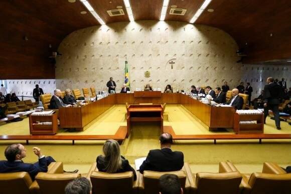 Plenário do Supremo Tribunal Federal (Foto: Marcelo Camargo/Agência Brasil)