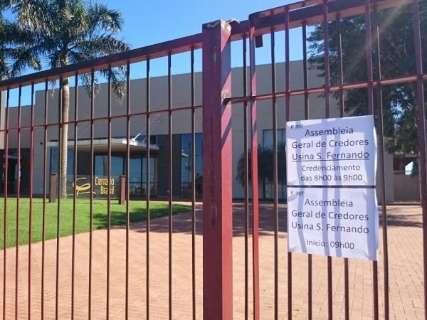 Com poucos credores presentes, assembleia da São Fernando é adiada