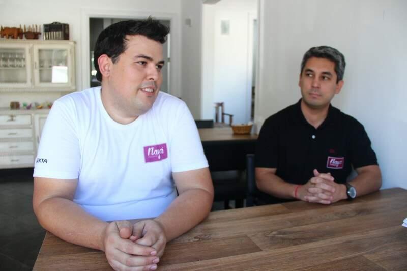 Rafael e Flavio transformaram amizade em sociedade. Fernando Antunes)