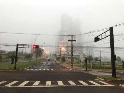 MS teve nevoeiro em oito municípios; Aral Moreira foi cidade mais fria