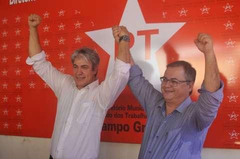 Sem a presença de lideranças, PT lança Marcos Alex para prefeitura