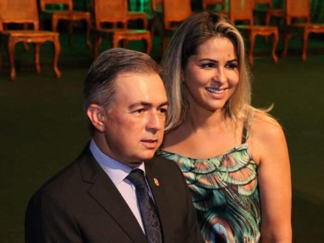 Antônio Carlos Videira durante posse de secretários no Rubens Gil de Camillo (Foto: Henrique Kawaminami)