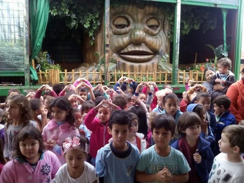 Última apresentação foi em escola municipal de Nova Alvorada do Sul (Foto: Divulgação)