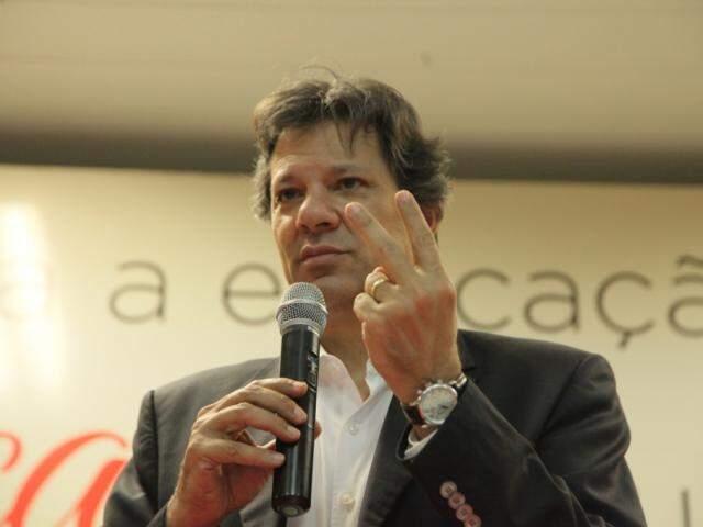 Haddad também é ex-prefeito de São Paulo (Fotos: João Paulo Gonçalves)