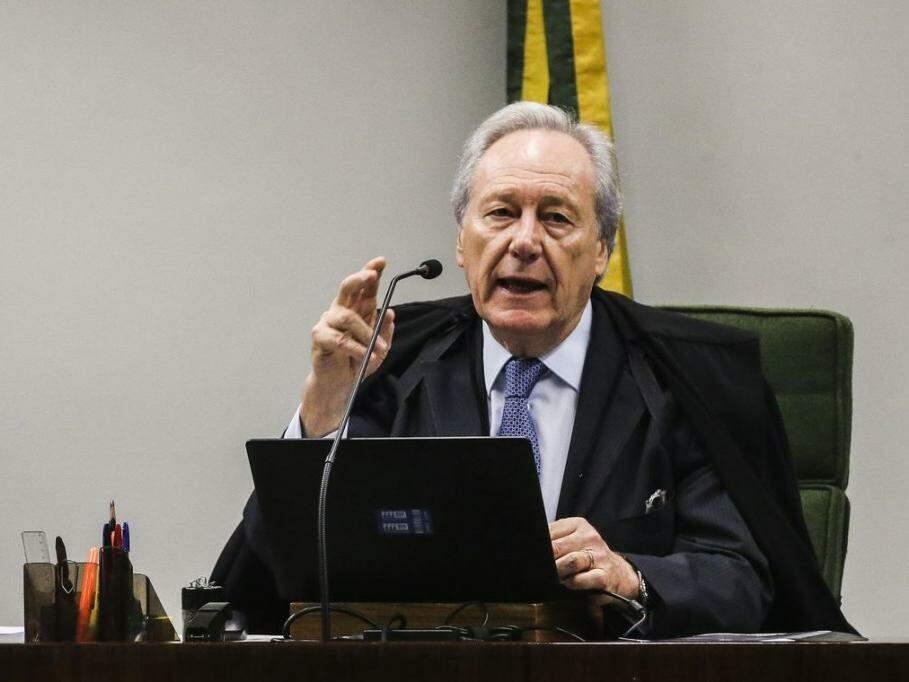 Ministro Ricardo Lewandowisk durante sessão do STF (Foto: Antonio Cruz/Agência Brasil)