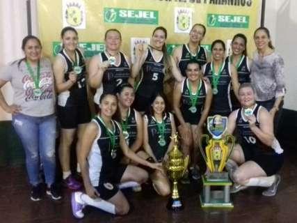 Amambai e Caarapó vencem Campeonato Conesul de Voleibol