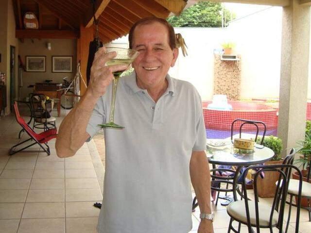 Ciro, voz da rádio e da cultura sul-mato-grossense. (Foto: Reprodução Facebook)