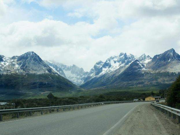 Paisagem estonteante ao longo da Ruta Ushuaia-Buenos Aires. (Foto: Bruna Cazzolato Ribeiro/O Viajante)