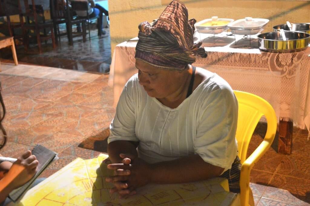 Margarida, dona da casa, é o exemplo de resistência contra o preconceito. (Foto: Graziela Almeida)