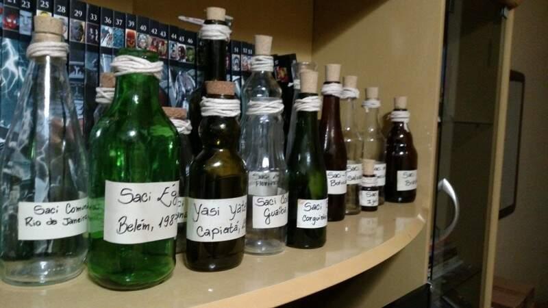 A coleção de Sacis feitas especialmente para o filme (Foto: Divulgação/Andriolli)