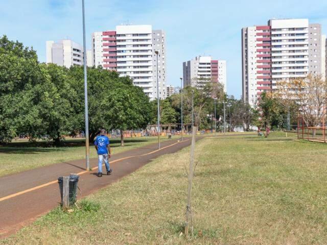 Parque do Sóter tem reforma orçada em aproximadamente R$ 1 milhão (Foto: Henrique Kawaminami)