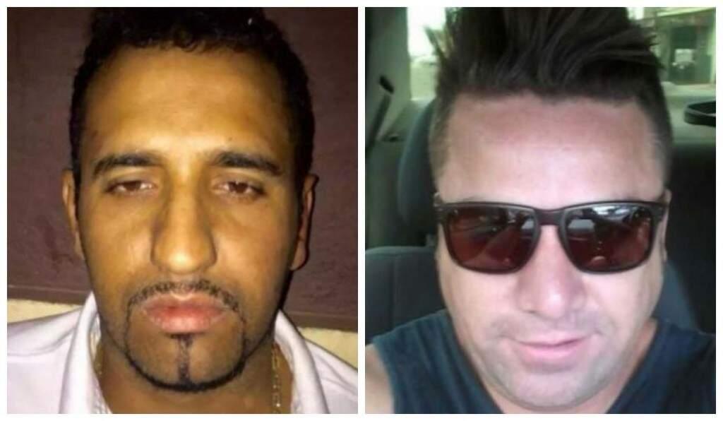 Ivanilton Moretti e Felipe Alves, mortos na boate (Foto: ABC Color)
