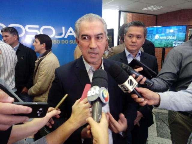 Estado vai dobrar área para plantio em dez anos, projeta Reinaldo