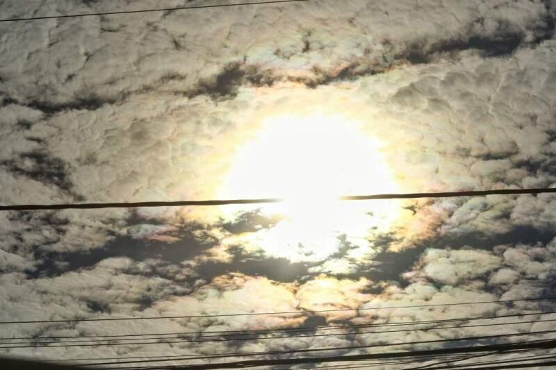 Sábado tem previsão de calor de 31ºC em Campo Grande. (Foto: André Bittar)