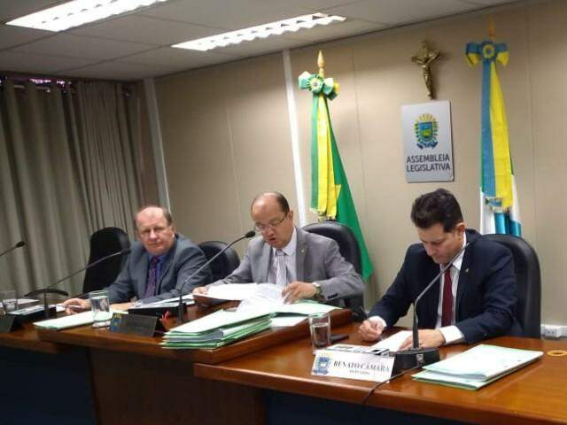 Comissão da Assembleia Legislativa deu aval a projeto do governo que muda previdência para futuros servidores. (Foto: Leonardo Rocha)