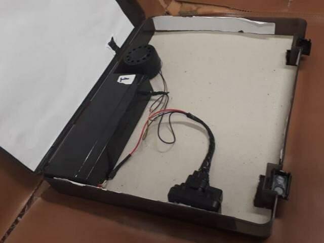 Falsa bomba foi encontrada durante discussão sobre agrotóxicos (Foto: Reprodução/Câmara dos Deputados)