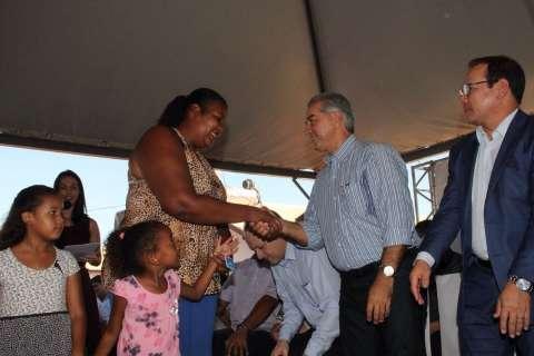 Com 299 casas, conjunto de R$ 18 milhões foi inaugurado hoje por Reinaldo