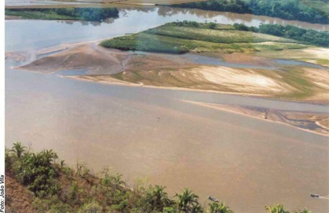 Rio Taquari precisa de recuperação urgente. (Foto: Divulgação)