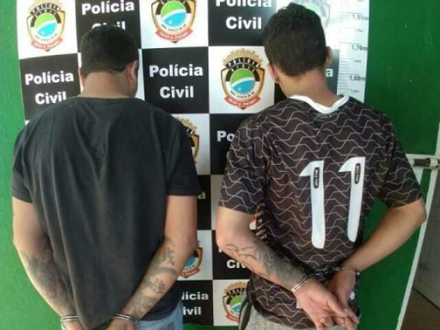 Júnior e Caio permanecem presos (Foto: O Correio News)