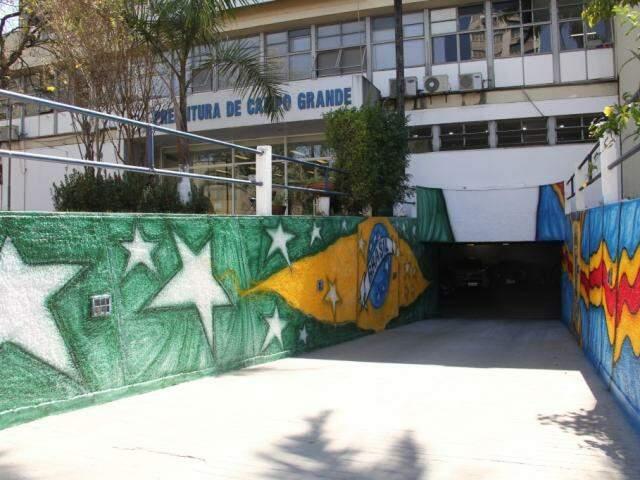 Prefeitura de Campo Grande. (Foto: Marcos Ermínio/Arquivo).