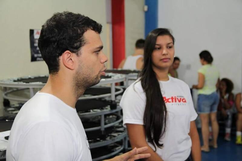 Os exercícios eram casados com um apoio nutricional.  (Foto:Fernando Ricardo Ientzsch)