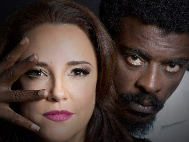 Ana Carolina e Seu Jorge fazem show aqui dia 20 de agosto.