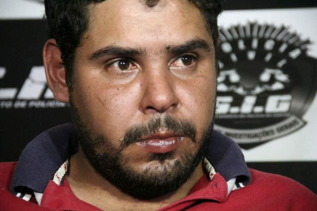 Ronaldo da Silva Moeda, 30 anos, teria planejado emboscada. (Foto: Marcos Ermínio)