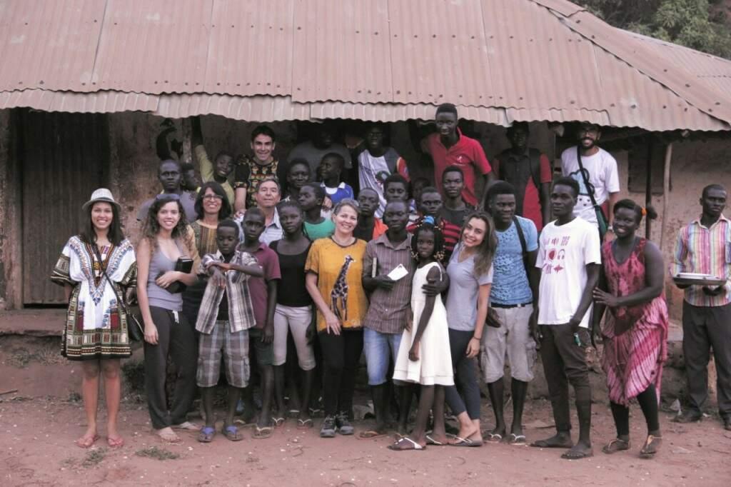 Missão pretende retornar, a cada ano, para melhorar vida de comunidade carente em país africano. (Foto: Arquivo Pessoal)