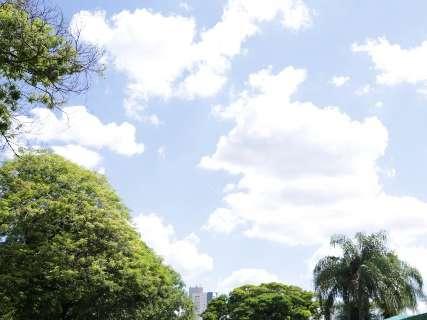 Nos próximos dias, calor continua e pode chover em algumas áreas