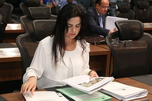 Deputada Mara Caseiro apresentou projeto na Assembleia (Foto: Assessoria;ALMS)