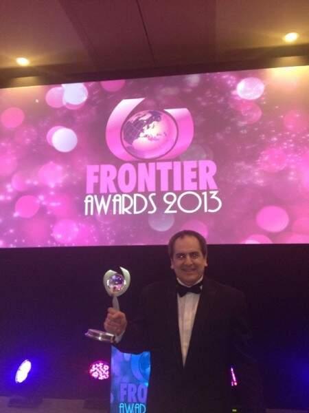 Prêmio foi recebido pelo diretor da empresa, Felipe Cogorno Álvarez (Foto: Divulgação)