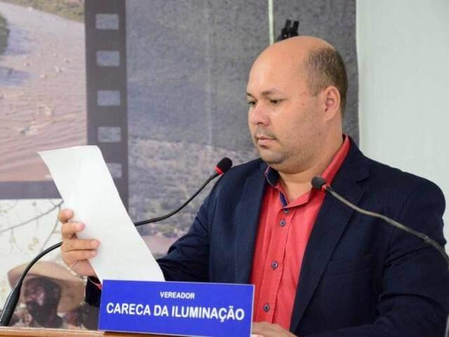 Lucimar de Oliveira é vereador e presidente do PRB de Coxim. (Foto: Câmara Municipal de Coxim/Divulgação)