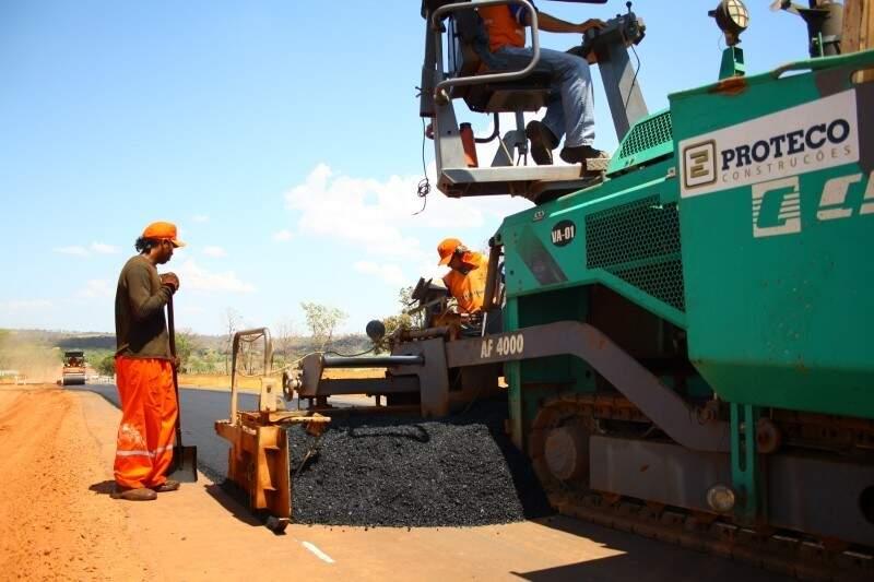 Investigações começaram por obras de rodovias em MS. (Foto: Marcos Ermínio)