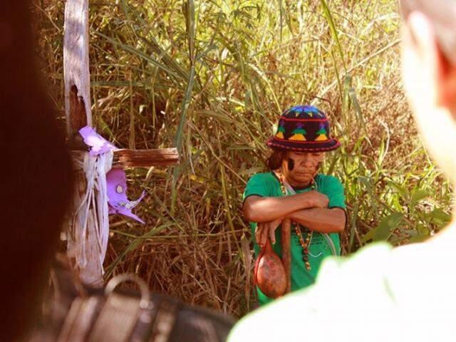 Cacique, filha de líder indígena e rezador, Damiana Cavanha é miúda em tamanho, mas grande na força. (Foto: Rafael de Abreu)