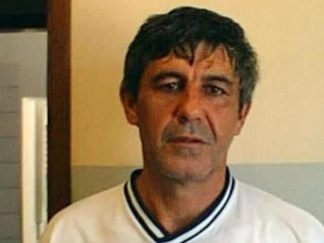 Foto de Tio Arantes em 2006, durante prisão em Campo Grande. (Foto: Arquivo)