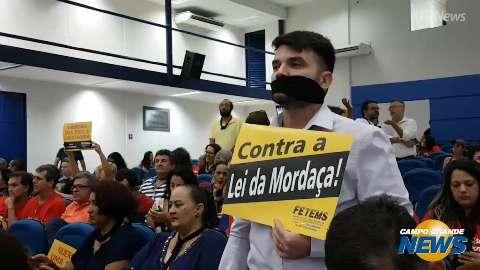 Audiência sobre Escola sem Partido é suspensa após tumulto com manifestantes